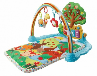 Krabbeldecken Maßstab Messlatte Erlebnis-Decke Entdecken Musik Vtech Baby 2in1 Spiel-Decke Spielzeug