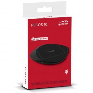 Wireless Charger Ladegerät QI Ladestation für Samsung Galaxy S21 S20 S10 Note20