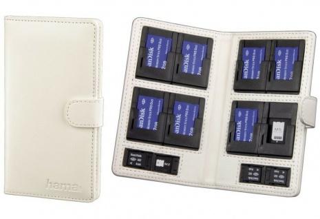 Hama Tasche Etui Case Hülle für Sony PSP MS Memory-Stick Pro Duo Speicher-Karten