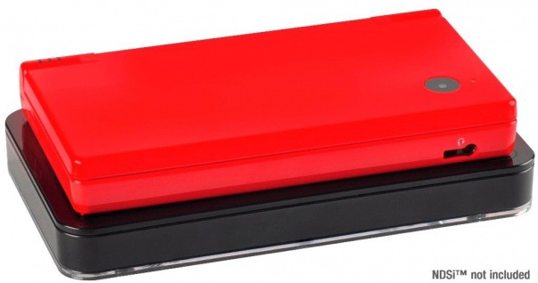 Speedlink Induktion Ladegerät + Akku Lade-Station Dock für Nintendo DSi NDSi