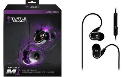 Turtle Beach EARBUDS M1 EarForce 3, 5mm Gaming Headset Kopfhörer Handy Tablet etc