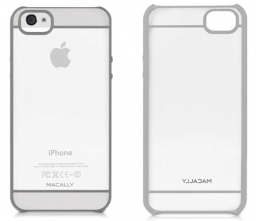 Macally Cover Schutz-Hülle Hard-Case Schale Tasche Case für Apple iPhone SE 5S 5