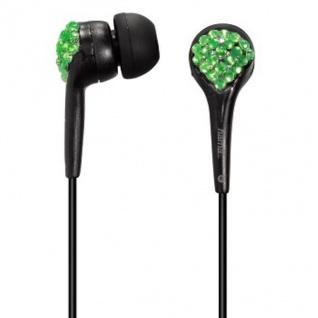 Hama Stereo In-Ear Kopfhörer Crystal HK-278 Schwarz Headset 3, 5mm Klinke MP3 CD