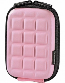 Hama Kamera-Tasche Hardcase Pink für Canon IXUS 190 185 510 500 240 220 HS 130