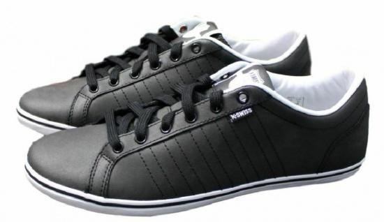 K-SWISS HOF III VNZ Leder Sneaker schwarz Gr. EUR 40 - 41 Schuhe low kswiss