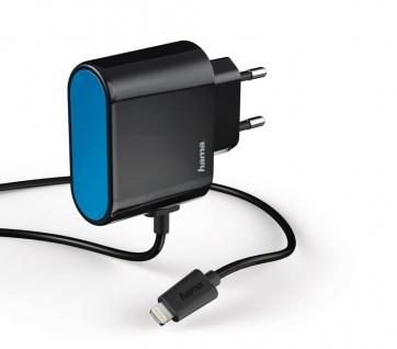 Hama Schnell-Ladegerät Lightning 2, 4A Stecker-Netzteil Netz-Lader Lade-Adapter