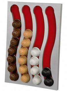 Kapsel-Halterung Spender Halter Wand-Montage für Dolce Gusto Kaffee-Kapseln Caps - Vorschau 1