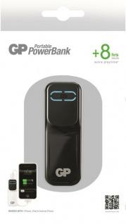 GP 2000mAh Power-Bank Externer Akku USB Ladegerät für Universal Handy Smartphone