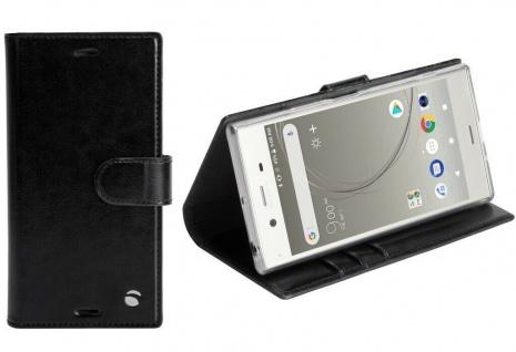 Krusell Folio Wallet 2in1 Tasche Smart Schutz-Hülle Cover für Sony Xperia XZ1