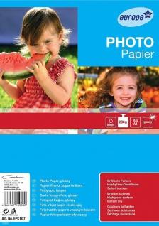 Avery 30x Blatt A4 200g/m² Foto Papier hochglanz Fotopapier Tintenstrahl Drucker