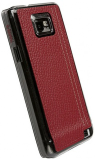 Krusell Gaia UnderCover Schutz-Hülle Leder-Tasche Cover für Samsung Galaxy S2