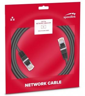 Speedlink 5m Netzwerk-Kabel Cat 5e STP RJ45 Gigabit Patchkabel LAN DSL Ethernet