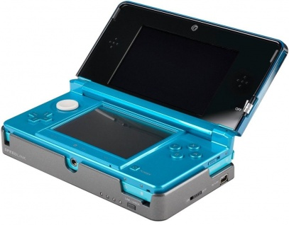 Speedlink Zusatz-Akku 7Std Erweiterung Batterie Adapter für Nintendo 3DS Konsole