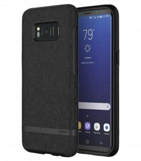 Incipio Esquire Black Cover Hard-Case Schutz-Hülle Tasche für Samsung Galaxy S8