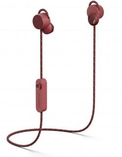 Urbanears Jakan Bluetooth In-Ear Headset Rot Kopfhörer Mikrofon + Fernbedienung