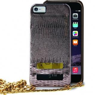 Puro Glam Cover Snap-On Handy-Kette Case Schutz-Hülle für iPhone 6 Plus 6s Plus