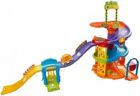 Vtech Tut Tut Baby Flitzer Parkhaus Park-Garage Spiel-Set Bahn Lern-Spielzeug