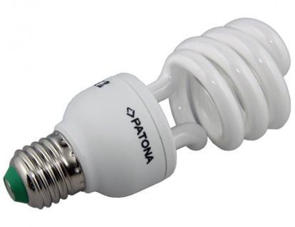 Patona Energiespar-Lampe E27 20W / 100W Spiral Warmweiß Glüh-Birne Leuchtmittel