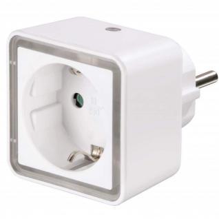 Hama LED Nacht-Licht Cube Steckdose Orientierungs-Licht Dämmerungs-Sensor Lampe