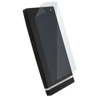 Krusell DELUXE Display Schutz Folie Schutzfolie für Sony Ericsson Xperia S Handy
