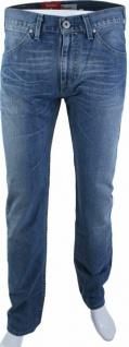 Original Levi's Herren Jeans-Hose 504 Standard Straight Men Blau Cotton Levis