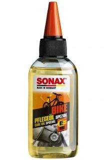 Sonax Bike Fahrrad-Öl für Schaltung Federgabel Bremsen Umwerfer Kriech-Öl Pflege