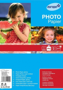 Avery Zweckform 30 Blatt A4 200g Foto Papier Weiß Glänzend Fotopapier Drucker