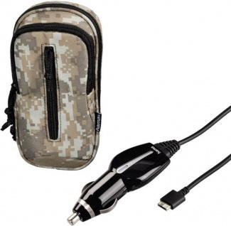 Hama Tasche Hülle + Kfz Ladekabel Ladegerät Adapter für Sony PS Vita PSV Slim