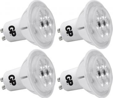 4x PACK GP LED Strahler GU10 7W / 50W dimmbar Warmweiß Birne Lampe Leuchtmittel