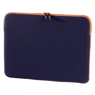 "Hama Design Cover 15"" 15, 4"" Notebook-Cover GO blau Tasche Case Laptop-Cover Bag"