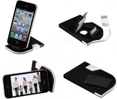 Hama Dock Card Docking USB-Kabel Ladegerät Lader für Apple iPhone 4S 4 3GS 3G 2G
