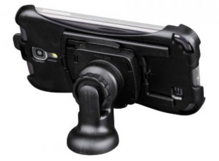 Hama Stativ-Halterung Halter Stativ-Adapter Schale für Samsung Galaxy S4 S IV 4 - Vorschau 2