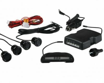 Funk Einparkhilfe Display + Ton 4 Sensoren Rückfahrwarner Parkhilfe PDC Sensor