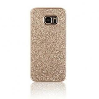 Spada Glitter Case Tasche Smart Schutz-Hülle Snap-On für Samsung Galaxy S7 Edge