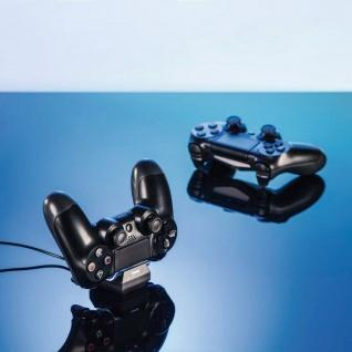 Hama USB Ladegerät Dock Lade-Station Docking für Sony PS4 Wireless Controller - Vorschau 4