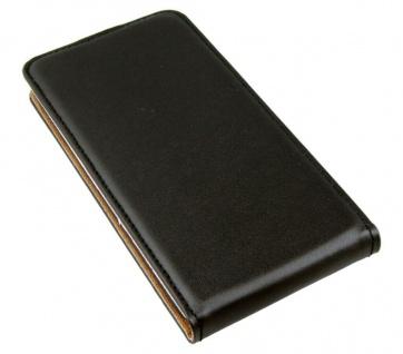 Patona Slim Flip-Cover Klapp-Tasche Schutz-Hülle Case Cover für Wiko Wax 4G