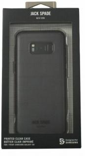 Kate Jack Spade New York Graph Cover Hard-Case Hülle Bag für Samsung Galaxy S8 - Vorschau 4