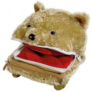 Hama Plüsch-Tasche + Hand-Puppe Teddy-Bär Hülle für Nintendo New 3DS 3DS DSi DS