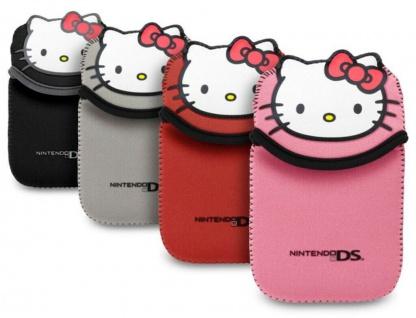 Hello Kitty Tasche HK5 Case Etui Hülle Bag für Nintendo New 3DS N3DS DSi Konsole
