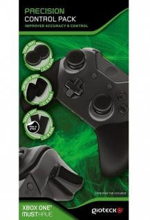 Gioteck Pack Grips Thumbstick Gummi Kappen Caps Trigger für Xbox One Controller