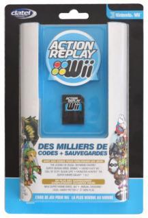 Datel Action Replay Cheat-Modul 1GB Adapter Power-Saves für Nintendo Wii Spiele