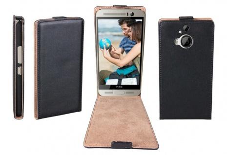 Patona Slim Flip-Cover Klapp-Tasche Schutz-Hülle Cover Case für HTC One M9+ Plus
