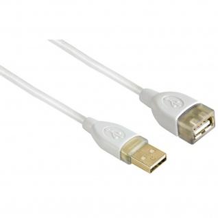 Hama 3m USB-Verlängerung Verlängerungs-Kabel für PC Webcam Tastatur Maus Drucker