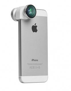 Olloclip 4in1 Kamera-Objektiv Weitwinkel Fischauge Makro für iPhone SE 5SE 5s 5
