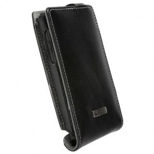 Krusell Flip Handy-Tasche Schutz-Hülle Klapp-Tasche für Sony Ericsson Xperia Ion