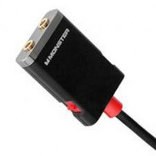 Monster Splitter Klinken-Kabel Klinken-Adapter 3, 5mm Stecker > 2x Buchse Y-Kabel - Vorschau 3