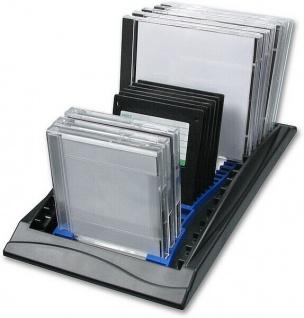 "Speedlink Combo Rack CD DVD ZIP MO 3, 5"" Diskette CD-Regal CD-Rack Ständer PC EDV"