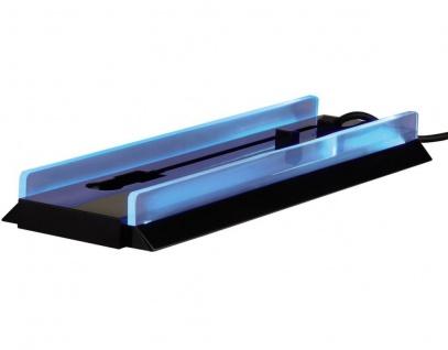 Hama Stand-Fuß + USB-Hub beleuchtet vertical Ständer Halter für Sony PS4 Konsole