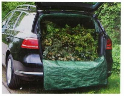 PKW Schutz Laderaum-Abdeckung Kofferraum-Wanne Transport-Sack Garten-Abfall TOP - Vorschau 3