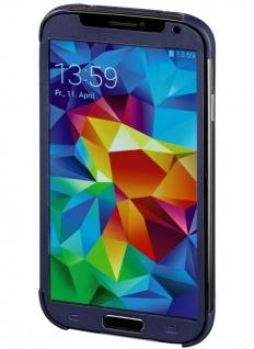 Hama Handy-Tasche Mirror Flap Case Etui Klapp-Tasche Hülle für Samsung Galaxy S5